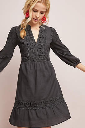 Akemi + Kin Josephine Embroidered Dress