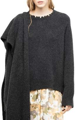 Zadig & Voltaire Asa Distressed Sweater