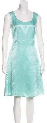 Calvin Klein Collection Linen & Silk-Blend Dress