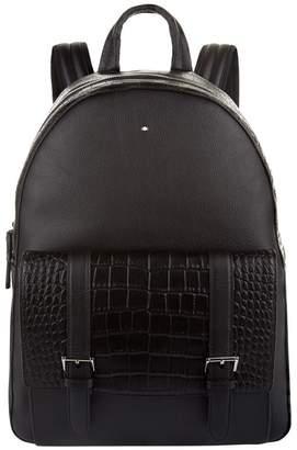 Montblanc Alligator Pocket Backpack