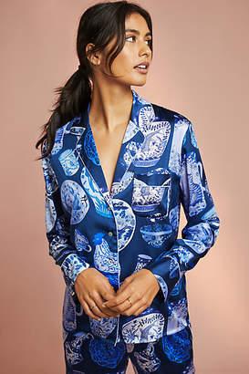 Karen Mabon Pottery Silk Sleep Shirt