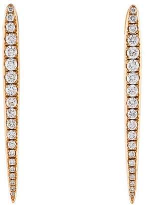 Anita Ko 18K Diamond Spear Earrings