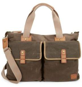 Andrew Marc Farifield Canvas Satchel