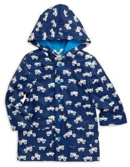 Hatley Baby Boy's, Little Boy's& Boy's Monster Truck Rain Jacket