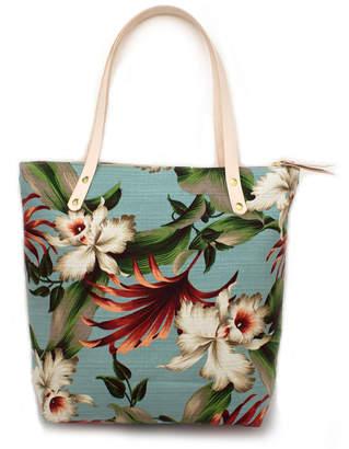 Knickers & Whiskey Vintage Maui Portfolio Tote Bag