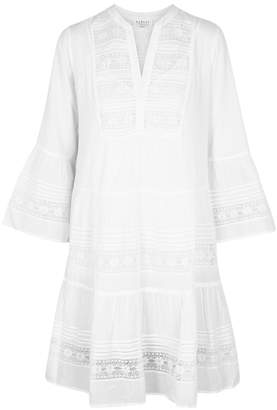 Velvet by Graham & Spencer Nuria White Lace And Cotton Dress