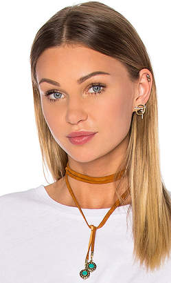 Vanessa Mooney Leather & Nepali Bead Bolo in Tan. $66 thestylecure.com