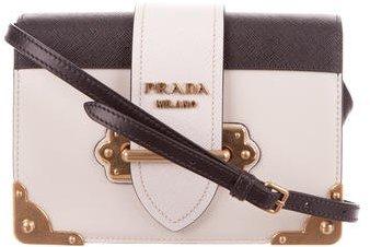 pradaPrada 2016 Cahier Crossbody Bag
