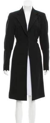 Dries Van Noten Structured Wool Coat