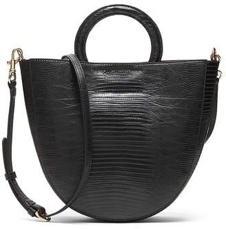 Banana Republic Vegan Leather Circle Handle Bag