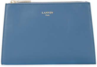 Lanvin trapeze clutch