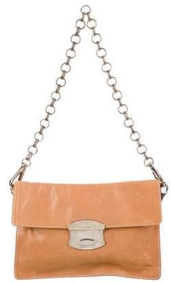 Prada Glace Calf Chain Bag Tan Glace Calf Chain Bag