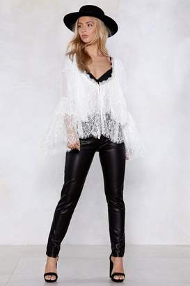 Nasty Gal Give Me the Night Faux Leather Pants