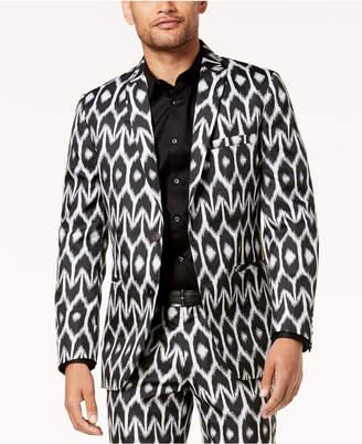INC International Concepts Mr. Turk X I.N.C. Men's Ikat Slim Blazer, Created For Macy's