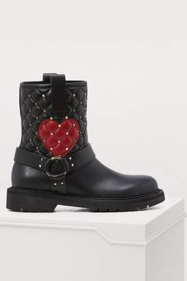 Valentino Gavarani studded boots