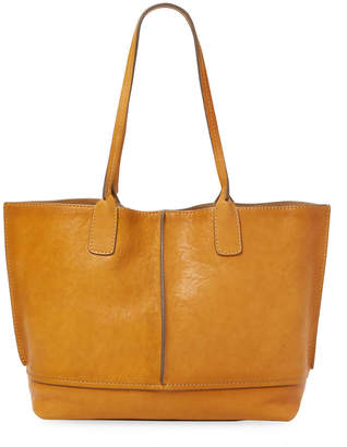 Frye Leather Panel Tote