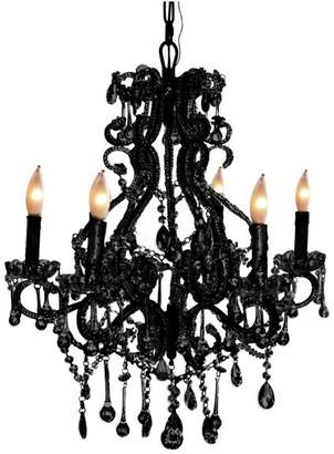 Isabella Collection Pangea Home 6-Light Chandelier