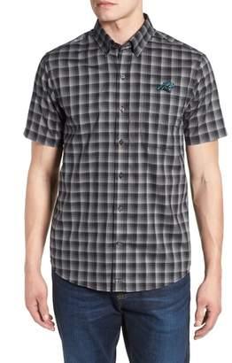 Cutter & Buck Carolina Panthers - Fremont Regular Fit Check Sport Shirt