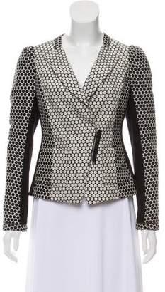Yoana Baraschi Casual Polka Dot Print Jacket
