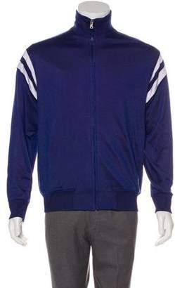 Gucci Striped Zip Knit Jacket w/ Tags