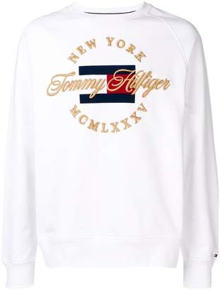 Tommy Hilfiger New York logo embroidered sweatshirt