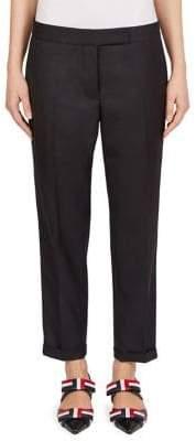 Thom Browne Low-Rise Twill Stripe Pants