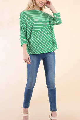 Umgee USA Stripes Away top