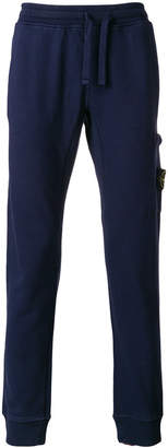 Stone Island fitted track trousers