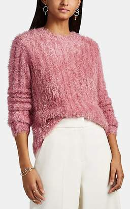 Sies Marjan Women's Margo Metallic Fuzzy Sweater - Rose