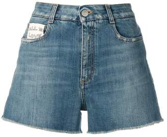 Stella McCartney flared denim shorts
