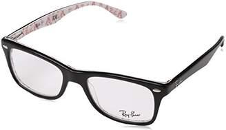 Ray-Ban Women's RX5228 SQuare Eyeglasses