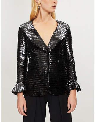 HUISHAN ZHANG Ivy sequinned jacket