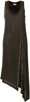 IRO lace-up detail dress