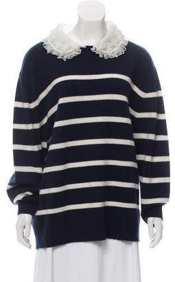 Manoush Wool Striped Sweater
