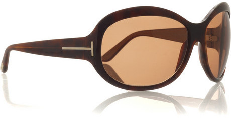 Tom Ford Oversized tinted sunglasses