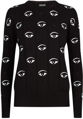Kenzo Embroidered Eye Sweater