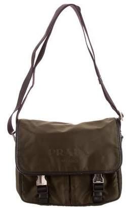 954a61b23091 Prada Tessuto Nylon Messenger Bag
