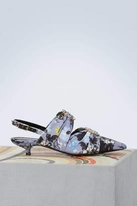 Erdem Chelsea printed sandals