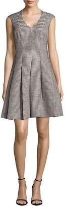 Karen Millen Women's Inverted Pleat Dress
