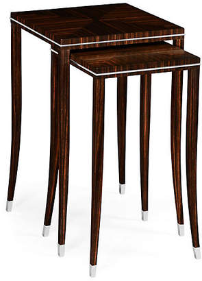 Espresso Soho Nesting Tables - Set of 2 - Jonathan Charles