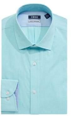 Izod Long Sleeve Slim Fit Solid Shirt