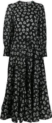 Rixo Pip panelled midi dress
