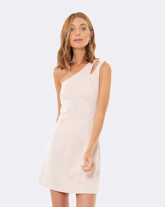 Zana Shoulder-Split Dress