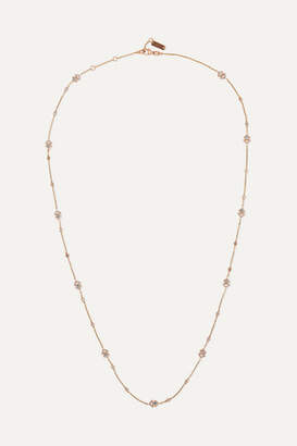 Messika My Soul 18-karat Rose Gold Diamond Necklace