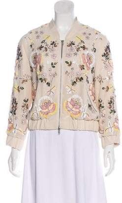 Needle & Thread Embellished Bomber Jacket