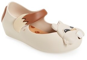 Toddler Girl's Mini Melissa Ultragirl Vi Chipmunk Mary Jane $62.95 thestylecure.com