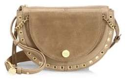 See by Chloe Kriss Small Grained Leather& Suede Crossbody