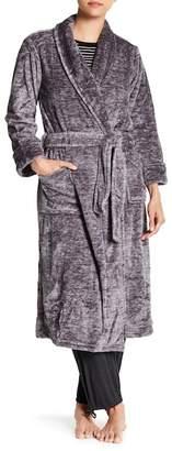 Natori N Plush Melange Robe