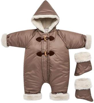 Paz Rodriguez Dark Brown Snowsuit.