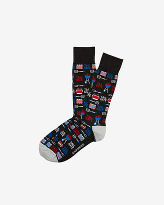 Express Tailgate Dress Socks